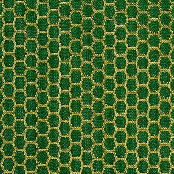Picture of Broderie Embroidery Fabric Honeycomb H. cm 160 (63 inch) Acetate Polyester Embroidery Red Olive Green Yellow Gold Violet Milk White for liturgical Vestments