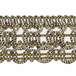 Picture of Agremano Braided Trim antique Gold Viscose Polyester Border Edge Trimming for liturgical Vestments