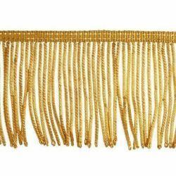 Imagen de Franja de Canutilho oro 300 hilos H. cm 8 (3,1 inch) en hilo metálico Viscosa Pasamanería para Vestiduras litúrgicas