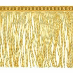 Picture of Twisted Fringe Trim gold H. cm 10 (3,9 inch) Metallic thread Viscose Passementerie for liturgical Vestments