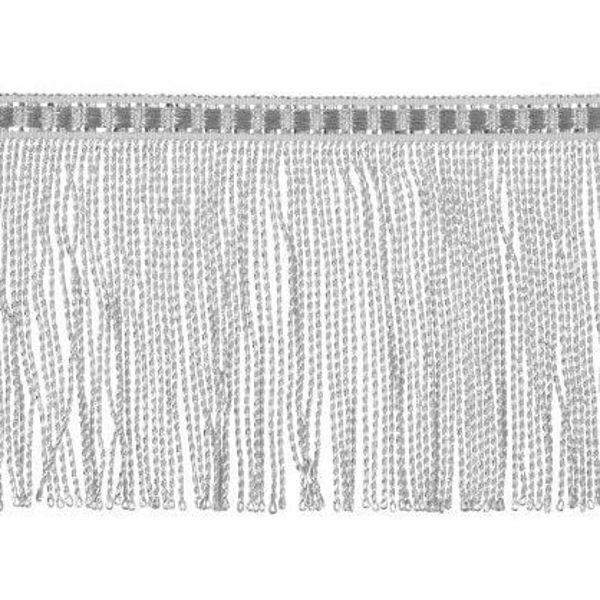 Immagine di Frangia ritorta H. cm 8 (3,1 inch) filato metallico Viscosa Passamaneria per Paramenti Sacri