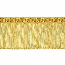 Picture of Twisted Fringe Trim gold H. cm 5 (2,0 inch) Metallic thread Viscose Passementerie for liturgical Vestments