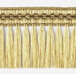 Picture of Trim Fringe Gold H. cm 8 (3,1 inch) Viscose Polyester Passementerie for liturgical Vestments