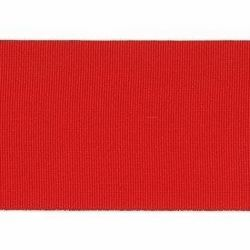 Picture of Red Ribbed Belt Trim Braid H cm 5 (2,0 inch) Acetate and Polyester Brilliant Red for liturgical Vestments