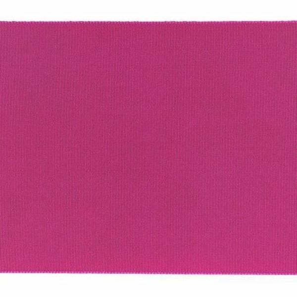 Imagen de Cinta Canulada H. cm 13 (5,1 inch) de mezcla de Seda Púrpura - Negro para Vestiduras litúrgicas