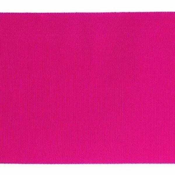Imagen de Cinta Canulada H. cm 15 (5,9 inch) de Seda pura Púrpura - Negro para Vestiduras litúrgicas