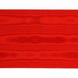 Picture of Ribbon Trim Braid H. cm 15 (5,9 inch) Pure Silk Purple Black Cardinal Red for liturgical Vestments