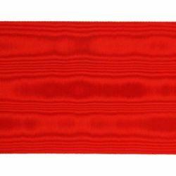Immagine di Nastro H. cm 15 (5,9 inch) pura Seta marezzata Paonazzo Nero Rosso Cardinalizio Bordura Bordatura Orlo Passamaneria per Paramenti Liturgici