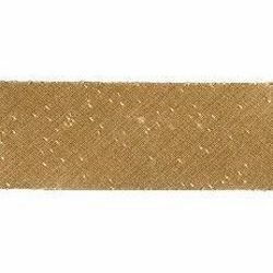 Picture of Bias Tape Diagonal Trim Gold H. cm 2,5 (0,98 inch) Silk blend Border Braid Passementerie for liturgical Vestments