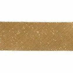 Immagine di Sbieco Bordo oro H. cm 2,5 (0,98 inch) misto Seta Passamaneria per Paramenti Sacri