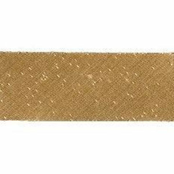 Picture of Bias Tape Diagonal Trim Gold H. cm 2,5 (0,98 inch) Silk blend Border Braid Passementerie for liturgical Vestments