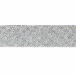 Picture of Bias Tape Diagonal Trim silver H. cm 1,4 (0,55 inch) Silk blend Border Braid Passementerie for liturgical Vestments
