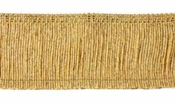 Picture of Trim Fringe H. cm 7 (2,8 inch) Cotton blend Gold Passementerie for liturgical Vestments