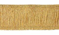 Imagen de Franja H. cm 7 (2,8 inch) mezcla Algodón Oro Pasamanería para Vestiduras litúrgicas
