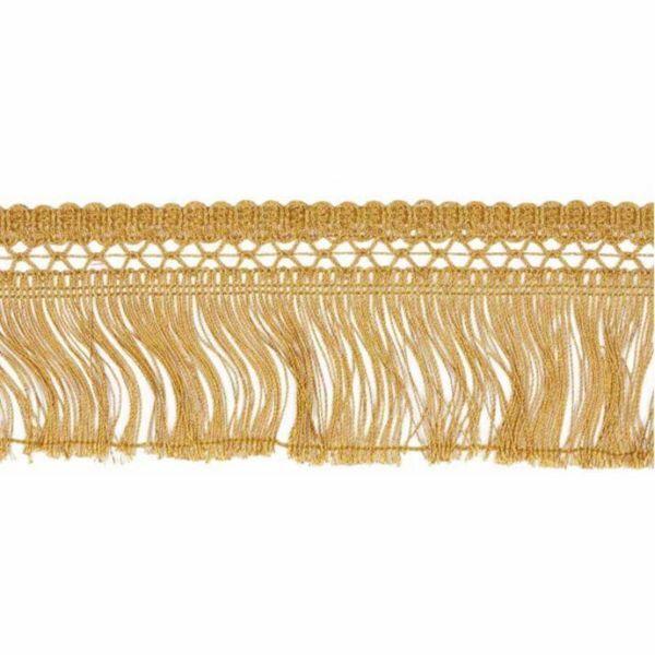 Picture of Cord Fringe Trim H. cm 8 (3,1 inch) Metallic thread Viscose Passementerie for liturgical Vestments