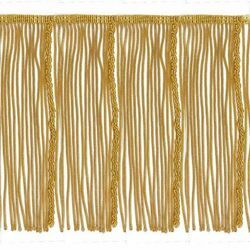 Picture of Bullion Fringe Trim Gold H. cm 19 (7,5 inch) Metallic thread Viscose Passementerie for liturgical Vestments