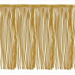 Imagen de Franja de Canutilho Oro H. cm 19 (7,5 inch) en hilo metálico Viscosa Pasamanería para Vestiduras litúrgicas