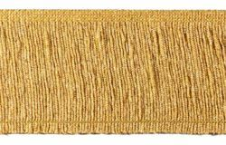 Picture of Trim Fringe H. cm 10 (3,9 inch) Cotton blend Gold Passementerie for liturgical Vestments