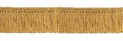 Picture of Trim Fringe H. cm 4 (1,6 inch) Cotton blend Gold Passementerie for liturgical Vestments