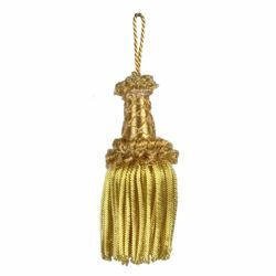 Picture of Bullion Tassel Gold cm 10 (3,9 inch) Metallic thread and Viscose for liturgical Vestments