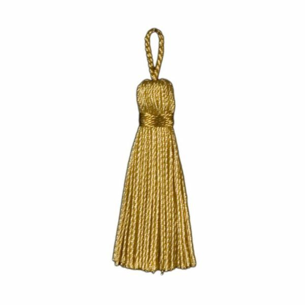 Picture of Cord Band Tassel Gold cm 5 (2,0 inch) Metallic thread and Viscose for liturgical Vestments