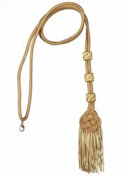 Picture of Cord Tassel with tassel Cotton blend for pectoral Cross