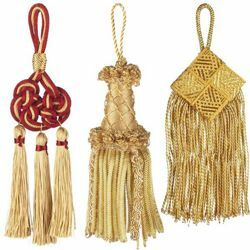 Picture for category Tassels Trims Cords & Pompons
