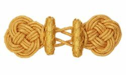 Picture of Cope Clasp Gold Acetate and Polyester for Cope Pluviale Surplice Cloak and liturgical Vestments