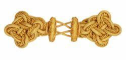 Immagine di Gancio Alamaro tipo lusso oro Viscosa Poliestere per Piviale Cotta Mantelli e Paramenti sacri