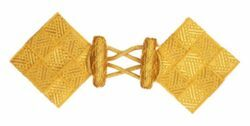 Picture of Square Cope Clasp Viscose and Polyester for Cope Pluviale Surplice Cloak and liturgical Vestments