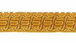 Picture of Galloon Gold Harp H. cm 2 (0,8 inch) Metallic thread Fabric high content of Gold Trim Orphrey Banding for liturgical Vestments