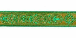 Imagen de Galón tradicional oro Florencia H. cm 2 (0,8 inch) Tejido mezcla Algodón Rojo Celestial Morado Amarillo Verde Bandera Blanco para Vestiduras litúrgicas