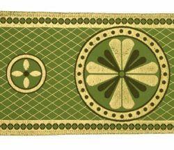 Immagine di Stolone oro Croce a Quadrifoglio H. cm 18 (7,1 inch) Lurex Rosso Celeste Verde Avana Viola Bianco Tessuto per Paramenti liturgici