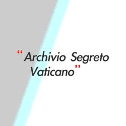 Immagine per il produttore Archivio Segreto Vaticano