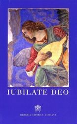 Picture of Iubilate Deo - New Edition