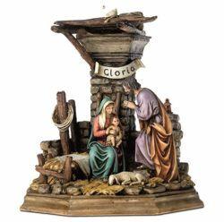 Picture of Nativity Diorama 3 Subjects Set cm 11 (4 inch) Landi Moranduzzo Nativity Scene resin Statue Arabic style
