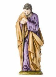 Immagine di San Giuseppe cm 11 (4 inch) Presepe Landi Moranduzzo Statua in resina stile Arabo