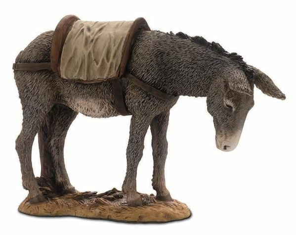 Picture of Donkey cm 15 (5,9 inch) Landi Moranduzzo Nativity Scene resin Statue Arabic style