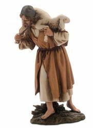 Immagine di Buon Pastore cm 15 (5,9 inch) Presepe Landi Moranduzzo Statua in resina stile Arabo