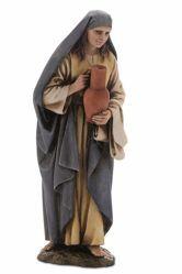 Immagine di Donna con Anfora cm 15 (5,9 inch) Presepe Landi Moranduzzo Statua in resina stile Arabo