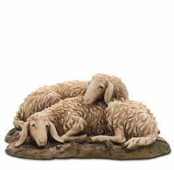 Picture of Sheep Set cm 15 (5,9 inch) Landi Moranduzzo Nativity Scene resin Statues Arabic style