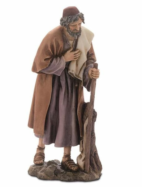 Picture of Saint Joseph cm 15 (5,9 inch) Landi Moranduzzo Nativity Scene resin Statue Arabic style