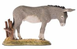 Picture of Donkey cm 18 (7,1 inch) Landi Moranduzzo Nativity Scene resin Statue Arabic style