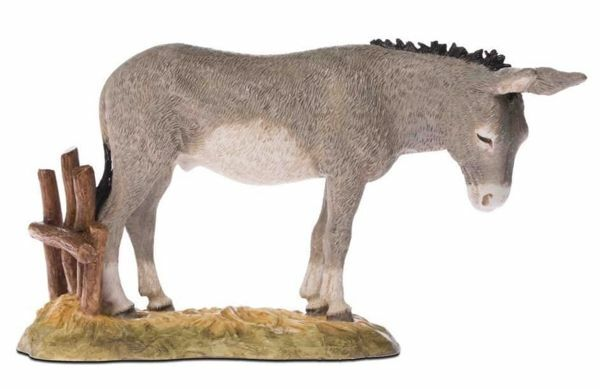 Picture of Donkey cm 18 (7,1 inch) Landi Moranduzzo Nativity Scene resin Statue Arabic style