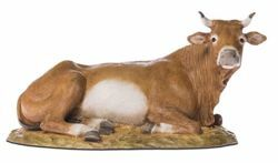 Picture of Ox cm 18 (7,1 inch) Landi Moranduzzo Nativity Scene resin Statue Arabic style