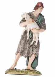 Immagine di Buon Pastore cm 18 (7,1 inch) Presepe Landi Moranduzzo Statua in resina stile Arabo