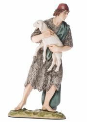 Imagen de Buen pastor cm 18 (7,1 inch) Belén Landi Moranduzzo Estatua de resina estilo árabe
