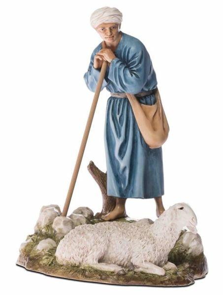 Picture of Guardian with Sheep cm 18 (7,1 inch) Landi Moranduzzo Nativity Scene resin Statue Arabic style