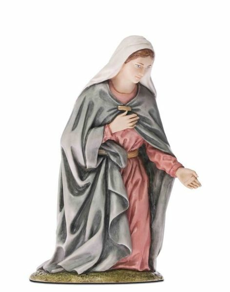 Immagine di Madonna / Maria cm 18 (7,1 inch) Presepe Landi Moranduzzo Statua in resina stile Arabo