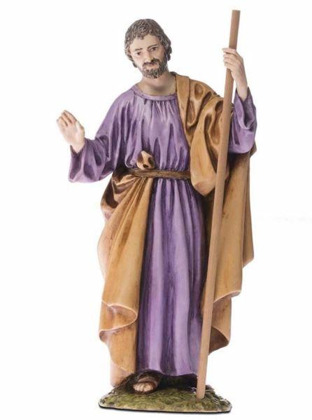 Imagen de San José cm 18 (7,1 inch) Belén Landi Moranduzzo Estatua de resina estilo árabe